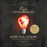 Now You Know - Ryan Chamberlin - audiobook