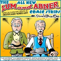 "All New ""Lum & Abner"" Comic Strips - Donnie Pitchford - audiobook"