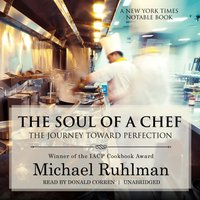 Soul of a Chef - Michael Ruhlman - audiobook