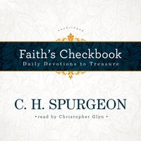 Faith's Checkbook - C. H. Spurgeon - audiobook
