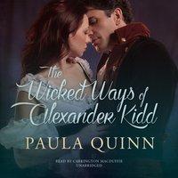 Wicked Ways of Alexander Kidd - Paula Quinn - audiobook