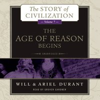 Age of Reason Begins - Will Durant - audiobook
