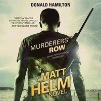 Murderers' Row - Donald Hamilton - audiobook