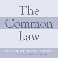 Common Law - Oliver Wendell Holmes - audiobook