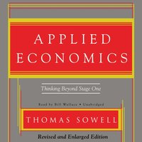 Applied Economics - Thomas Sowell - audiobook