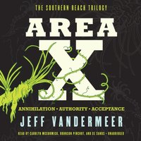 Area X - Jeff VanderMeer - audiobook