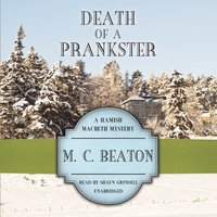 Death of a Prankster - M. C. Beaton - audiobook
