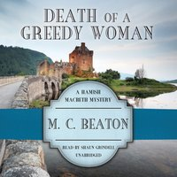 Death of a Greedy Woman - M. C. Beaton - audiobook