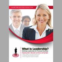 What Is Leadership? - Opracowanie zbiorowe - audiobook