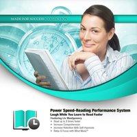 Power Speed-Reading Performance System - Opracowanie zbiorowe - audiobook