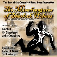 Misadventures of Sherlock Holmes - Joe Bevilacqua - audiobook