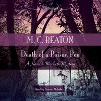 Death of a Poison Pen - M. C. Beaton - audiobook