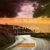 Death of a Celebrity - M. C. Beaton - audiobook