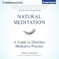 Natural Meditation - Dean Sluyter - audiobook