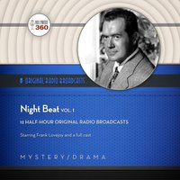 Night Beat, Vol. 1 - Hollywood 360 - audiobook