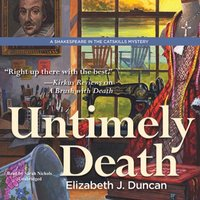 Untimely Death - Elizabeth J. Duncan - audiobook