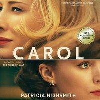 Carol - Patricia Highsmith - audiobook