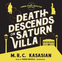 Death Descends on Saturn Villa - M. R. C. Kasasian - audiobook
