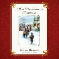 Miss Davenport's Christmas - M. C. Beaton - audiobook