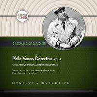 Philo Vance, Detective, Vol. 1 - Hollywood 360 - audiobook