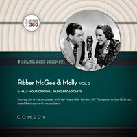 Fibber McGee & Molly, Vol. 2 - Hollywood 360 - audiobook
