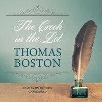 Crook in the Lot - Thomas Boston - audiobook