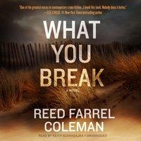 What You Break - Reed Farrel Coleman - audiobook
