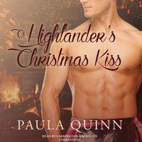 Highlander's Christmas Kiss - Paula Quinn - audiobook