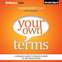 Your Own Terms - PsyD Yasmin Davidds - audiobook