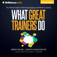 What Great Trainers Do - Robert Bolton - audiobook
