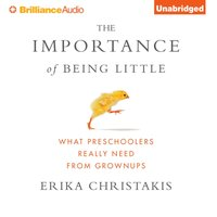Importance of Being Little - Erika Christakis - audiobook