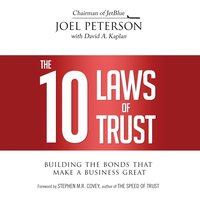 10 Laws of Trust, The - Joel Peterson - audiobook