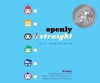 Openly Straight - Bill Konigsberg - audiobook