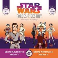 Star Wars Forces of Destiny: Daring Adventures, Volumes 1 & 2 - Emma Carlson Berne - audiobook