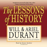 Lessons of History - Will Durant - audiobook