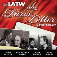 Paris Letter - Jon Robin Baitz - audiobook