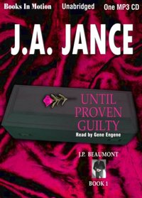 Until Proven Guilty - J A Jance - audiobook