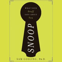 Snoop - Sam Gosling - audiobook