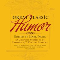 Great Classic Humor - various authors - audiobook