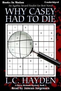 Why Casey Had To Die - L.C. Hayden - audiobook