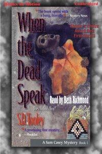 When The Dead Speak - S.D. Tooley - audiobook