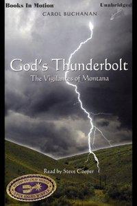God's Thunderbolt - Carol Buchanan - audiobook