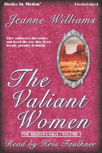 Valiant Women, The - Jeanne Williams - audiobook