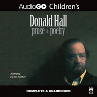 Donald Hall: Prose & Poetry - Donald Hall - audiobook