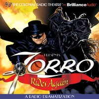 Zorro Rides Again - Johnston McCulley - audiobook