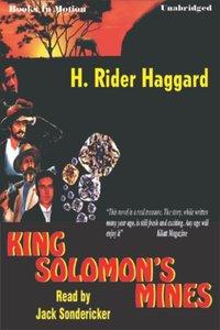 King Solomon's Mines - H Rider Haggard - audiobook