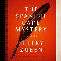 Spanish Cape Mystery - Ellery Queen - audiobook