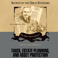 Taxes, Estate Planning, and Asset Protection - Vernon K. Jacobs - audiobook