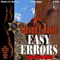 Easy Errors (Bill Gastner Series, Book 12) - Stephen F. Havill - audiobook