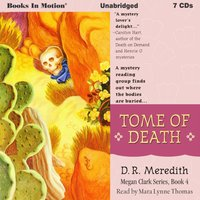 Tome Of Death (Megan Clark Series, Book 4) - D.R. Meredith - audiobook